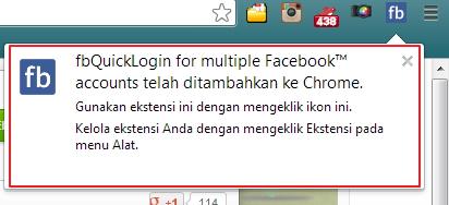 Cara Berpindah Akun Facebook Secara Otomatis dengan Facebook Quick Login