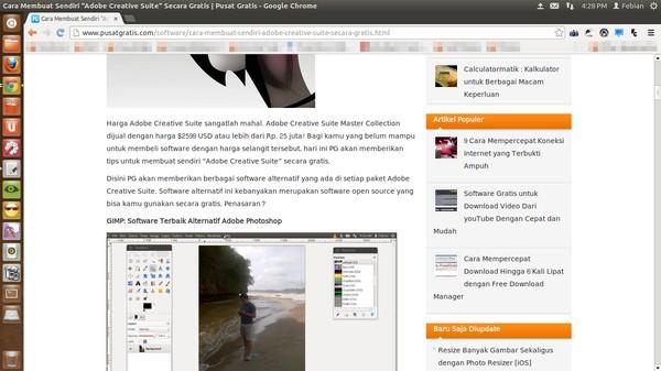 Mengubah Font Website Sesuka Hati Kita dengan Font Changer