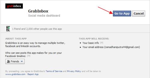 GrabInbox: Layanan untuk Mengakses Berbagai Jejaring Sosial dan Menjadwalkan Post Secara Bersamaan