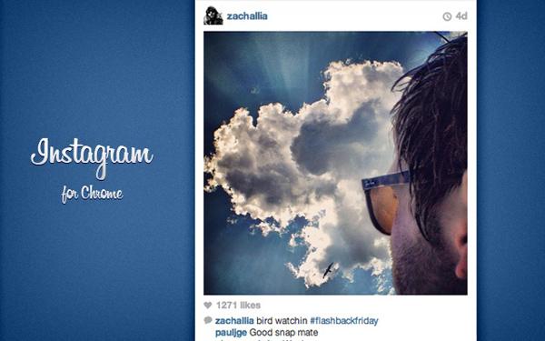 InstaChrome: Mengakses Instagram Langsung Dari Browser Secara Realtime