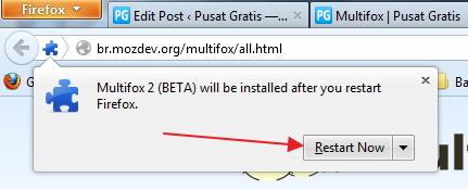 Cara Mudah Multiple Login Dalam Satu Browser dengan Multifox