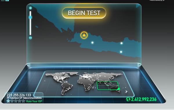 Menampilkan Statistik Kecepatan Internet di Taskbar dengan NetSpeedMonitor