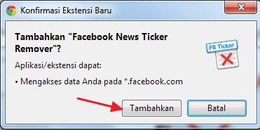 Cara Mudah Menonaktifkan News Ticker di Facebook