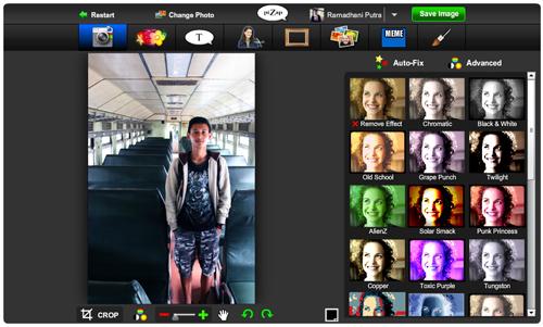PiZap: Layanan Photo Editor dengan Kemampuan Ekstra