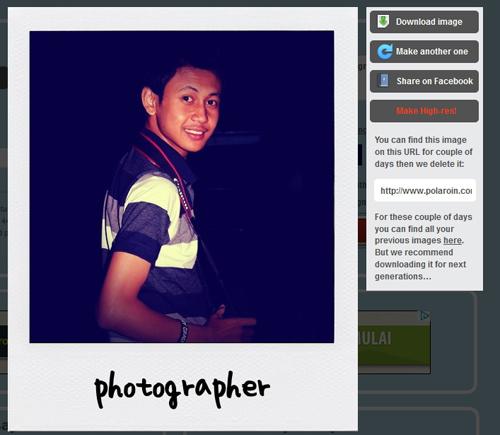 Lebih Praktis Membuat Foto Biasa Menjadi Polaroid dengan Polaroin
