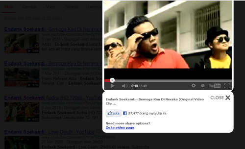 Melihat Video Youtube Langsung dari Hasil Pencarian Google dengan PreGBox