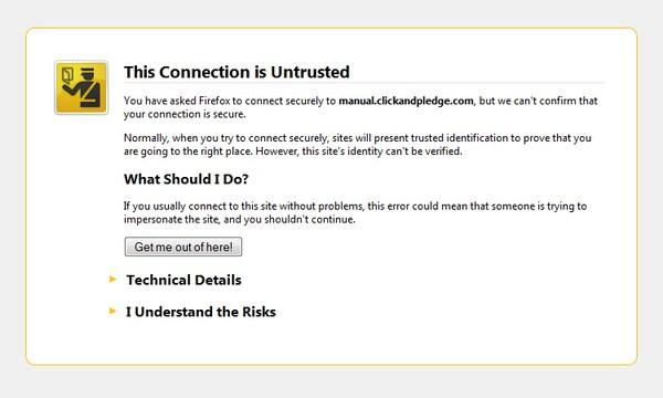Arti Dari 5 Pesan Error Web Page Ketika Dibuka
