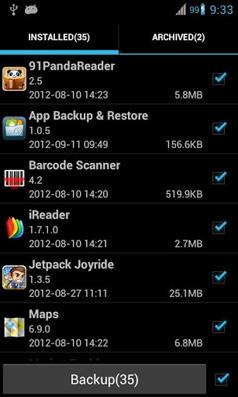 Backup dan Restore Semua Data Penting di Android dengan Super Backup