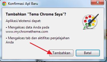 Cara Mudah Membuat Tema Google Chrome Sendiri