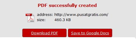 Web2PDF: Simpan Halaman Website Menjadi File PDF Langsung dari Browser