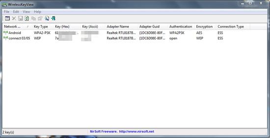 Cara Melihat dan Menyimpan Password Wifi di Windows dengan WirelessKeyView