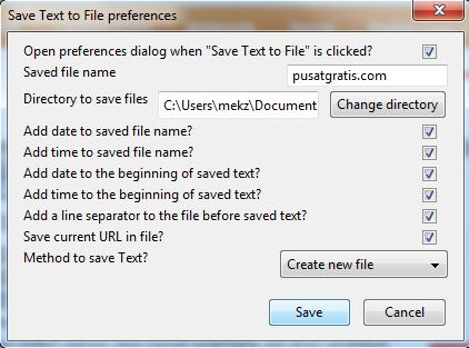 Cara Cepat Menyimpan Teks dengan Add-on Save Text to File