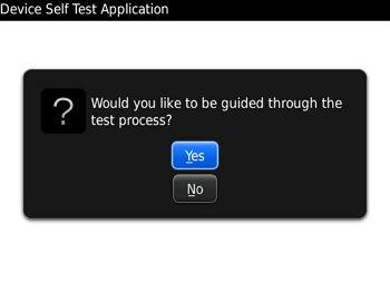 Cara Mudah Melakukan Self Test pada Semua Fungsi BlackBerry