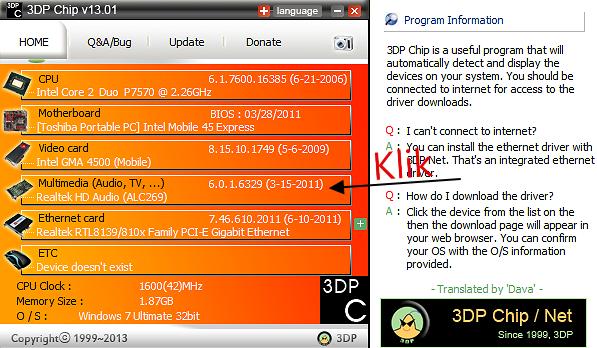 Cara Mudah Mencari dan Download Driver Terbaru dengan 3DP Chip