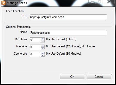 Cara Tampilkan Berita Terbaru Langsung di Desktop dengan FeedRoller RSS Ticker