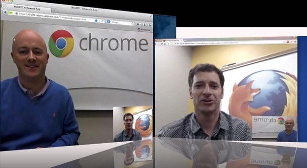 Google dan Mozilla Pamerkan Video dari Proyek WebRTC