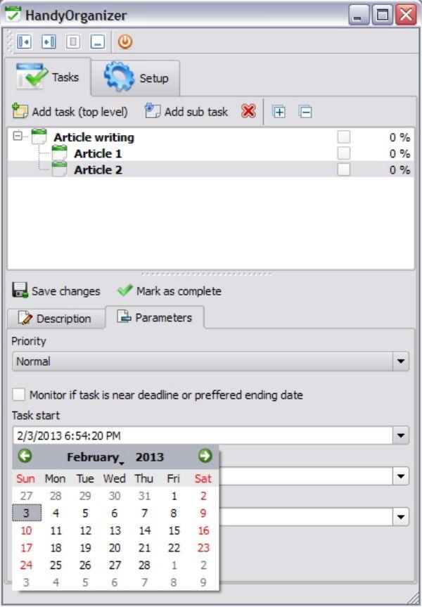 HandyOrganizer: Software To Do List Portabel untuk Kamu yang Aktif