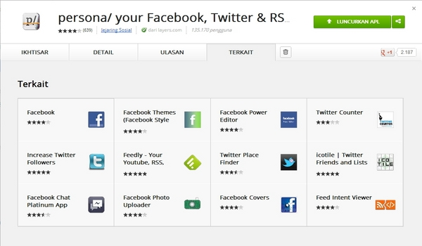 Gabung dan Kelola Semua News Feed Facebook, Twitter dan RSS Feed dengan Persona