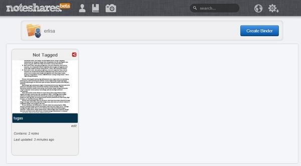 Cara Mudah Berbagi Catatan dan Gambar Menggunakan NoteShares