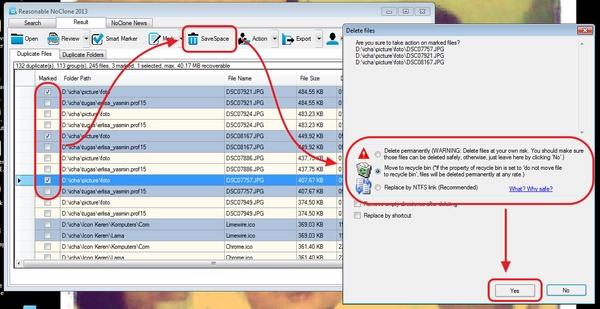 Mudah Menghapus Duplikat File Pada Windows Menggunakan NoClone