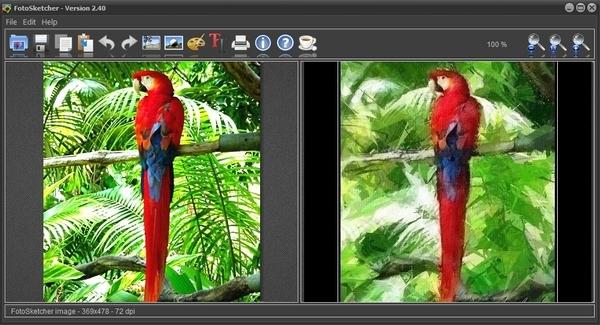 Baru! FotoSketcher Versi 2.40 dan Kini Sudah Bisa Digunakan Pada Windows 8