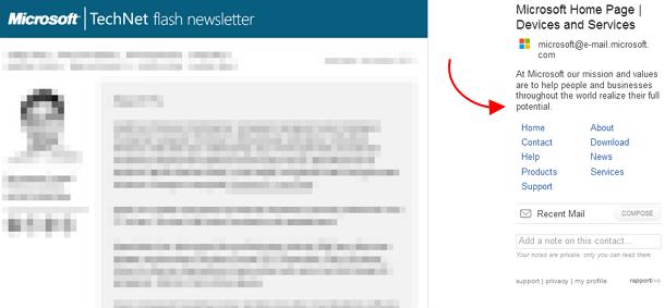 Mengganti Iklan di Gmail Menjadi Info yang Berguna dengan Rapportive Add-on