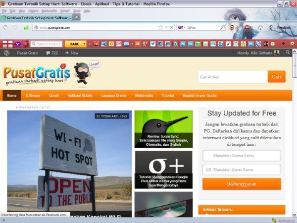 Mendandani Browser Firefox Kamu dengan Themes Add-Ons