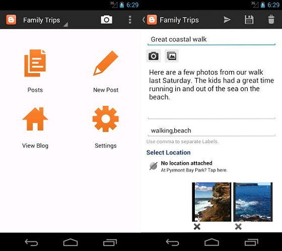Mudahnya Ngeblog dengan Aplikasi Blogger untuk Android dan iOS