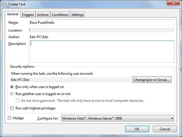 Membuat Popup Pengingat Tanpa Menggunakan Software Tambahan