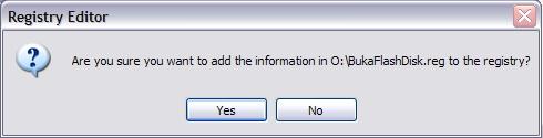 Tutorial Mengunci Data di Flashdisk tanpa Software Apapun!