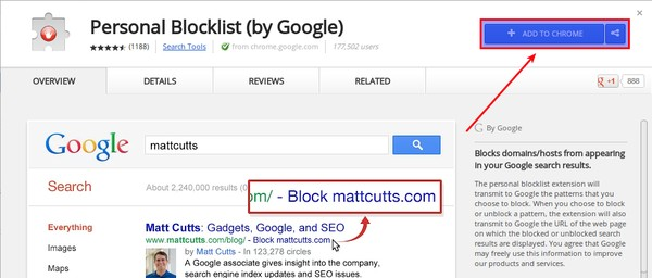 Cara Memblokir Website dari Hasil Pencarian Google