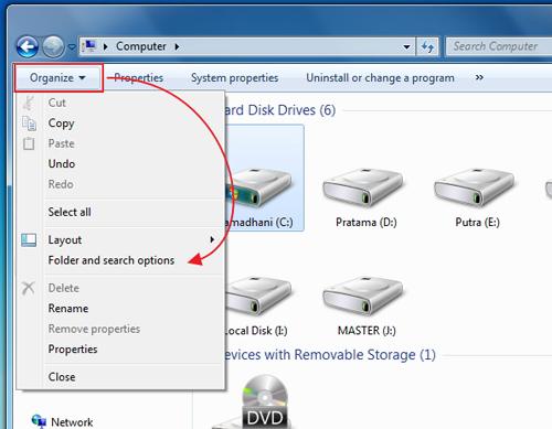 Cara Menampilkan Fitur Check Box di Windows