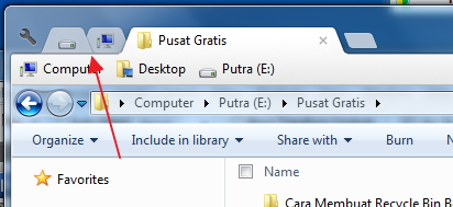 Membuat Multi Tab di Windows Explorer dengan Clover 2