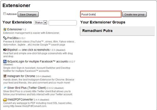 Mudah Manajemen Semua Ekstensi Chrome dengan Exstensioner