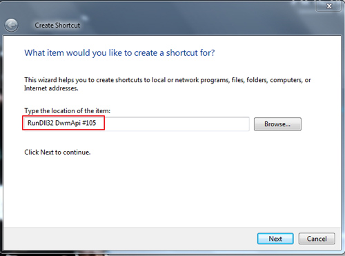 Cara Mudah Membuat Shortcut Flip3D di Windows