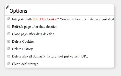 Hapus Data Browsing di Google Chrome dengan Forget Me