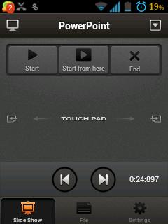 Menjalankan GOM Player dan PowerPoint Dari Ponsel dengan GOM Remote