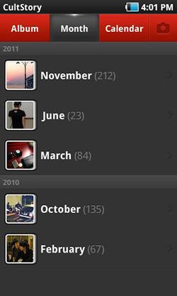 Lebih Seru Mencari Foto Berdasarkan Tanggal di Android dengan Photo Calendar
