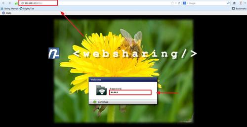 Transfer File dan Mengelola Android di Web Browser dengan WebSharing
