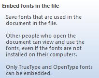 Cara Mudah Menyertakan Font Saat File Microsoft Word Disimpan