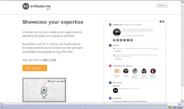 Enthuse.me: Laman untuk Kamu Mejeng dan Narsis dengan Prestasi Kamu