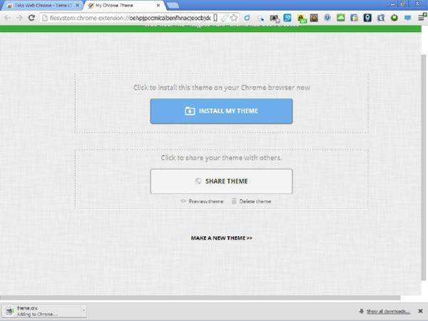 Tutorial Membuat Sendiri Tema untuk Google Chrome