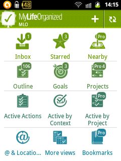 MyLifeOrganized: To Do List dengan Sinkronisasi Android - Desktop