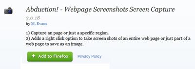 Cara Mudah Mengambil Screenshot Halaman Website Secara Penuh dengan Abduction