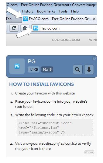 Favico: Cara Mudah Merubah Image Menjadi Icon Secara Online