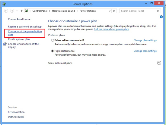 Cara Cepat Memunculkan Mode Hibernate di Windows 8