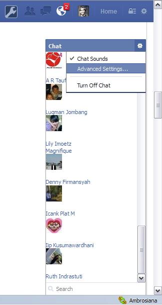 Tutorial untuk Chat Facebook Hanya dengan Teman yang Kamu Suka