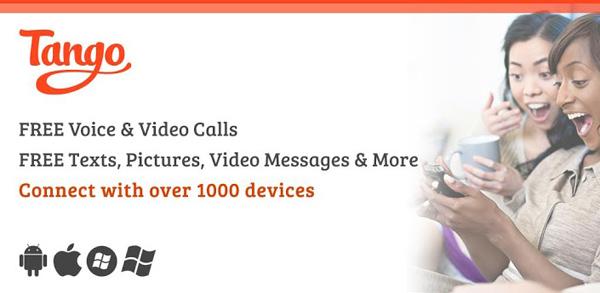 Berkirim Pesan, Suara dan Video Panggilan Secara Gratis dengan Tango