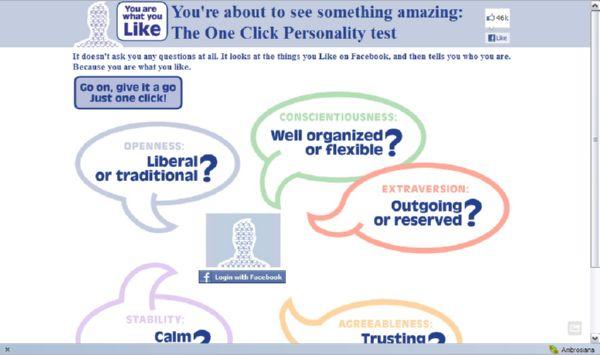Pengen Tahu Kepribadian Kamu Dilihat dari Like Facebook Kamu?