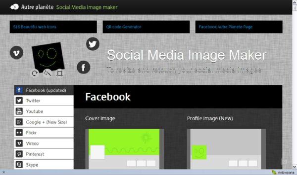 Buat Sendiri Gambar Jejaring Sosial Kamu dengan Social Media Image Maker